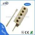 rj11 5 toma forma en zócalo de la extensión de la línea telefónica splitter adaptador de conector de cable