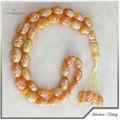 acryl rosenkranz schmuck für Mütter mit bunten mattierte perlen