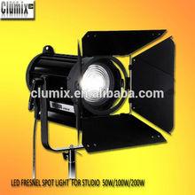 Professional dmx 512 control 100w/200w led studio spot light