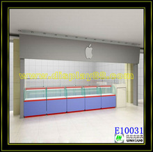 The size is customized and the color is as your require mobile /cell phone kiosk/display shocase