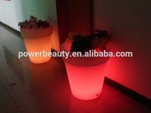 LED flower pot/led flower vase light/led glow furniture