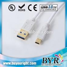 mini usb 3.0 cable for MP3/MP4/Camera