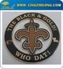 Go Saints Custom Metal Famous Vehicle Logos