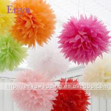 EYPP06 Popular artificial tissue paper flower ball
