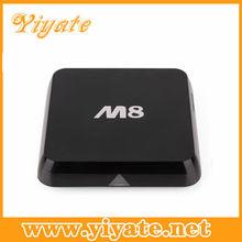 Enjoy TV Amlogic M8 Quad Core Android 4.4 Box Amlogic Google android tv mini pc XBMC Smart tv box