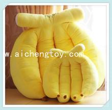 Lovely design cute stuffed plush fruit banana pillow