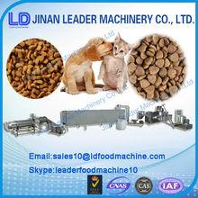 ISO9001 Certified Dry Dog/ fish/cat animal food Machine