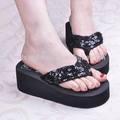 paillette cintas plataforma de salto alto sandálias da moda chinera
