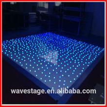 WLK-3-2 RGB 3 IN 1 Led twinkling black white dance floor pro stage