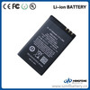 High capacity lithium polymer battery bl-4ct for nokia 3.7v