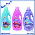 Ropa de lavado líquido ropa detergente y uso suave suavizante de telas de detergente