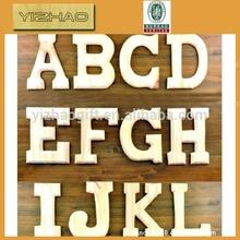 Yz-wl0001 alta calidad letras decorativas of the alfabeto en una carta