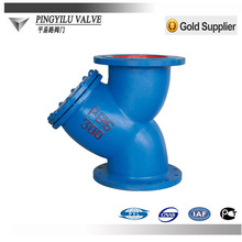 Ductile iron pn16 dn300 strainer water treatment industry