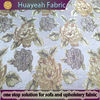 2014 new design 100% Polyester Woven Drapery Fabric