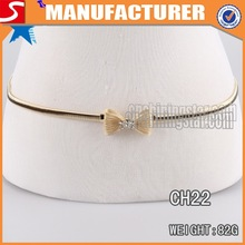 China Manufacture bow girls rhinestone belts