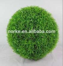 Artificial Grass ball, Decorative Plastic Grass Ball