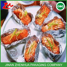food wrapping small size household alu foil for kitchen