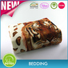 Home Textile factory price top sale animal print Flannel super soft blanket
