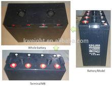 agm deep cycle solar batteries 2v 800Ah gel solar batteries