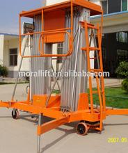 compact vertical reach platform