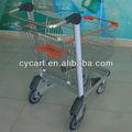 El aeropuerto de carrito de la compra, de compras de supermercado carritos para la venta