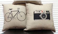 cheap wholesale various pattern to choose custom design printed plain pillow