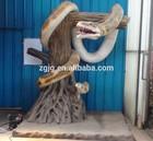 Indoor animatronic snake