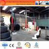 New design easy operation used rubber tyre pyrolysis machine with best price