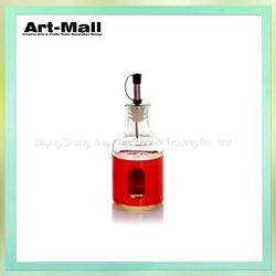 Latest design high quality lead free massage oil glass bottle wholesale