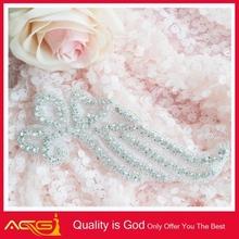 Bouquet Handle,DIY Wedding bridal sash decor fashion handmade beaded trim band