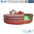 gigante de toro de rodeo mecánico con colchón inflable juego interactivo en el parque de atracciones