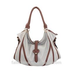 Fallinlove fashion women handbags wholesale china products pu leather tote bag