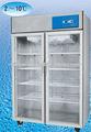 2 a 8 grados farmacia refrigerador para la vacuna