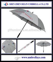 Auto open promotion advertising fiberglass umbrella shaft