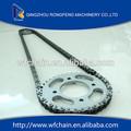 de la cadena y la rueda dentada para la motocicleta