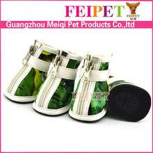 fashionable cheap winter dog shoes waterproof