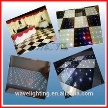 WLK-3-2 RGB 3 IN 1 Led twinkling white black dance floor light disco