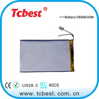 High quality for 2674138 3.7v 3000mah li polymer battery