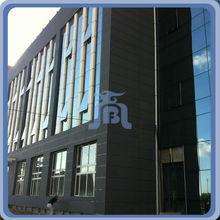 High density light weight commercial building curtain wall new facade materials