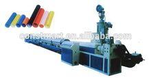 popular pvc wood plastic exterior wall cladding machinery