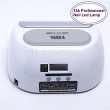 18k nail led uv lamp 18W nail led lamp professional quality factory price