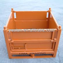 top quality Heavy duty metal steel storage bin box cage