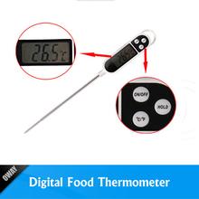 Temperature probe food control kitchen thermometer