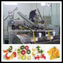 Parafuso / shell / protuberâncias extrudado fried chips linha de produção