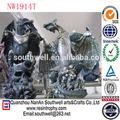 ingrosso cinese dragon statue da giardino in resina personalizzati