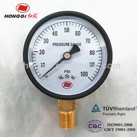 high accuracy 0~100 psi low pressure manometer