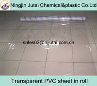 Transparent PVC sheet in roll