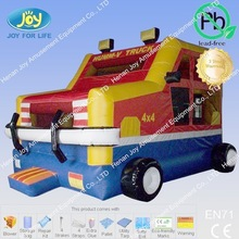 fashion style truck inflatable bouncer