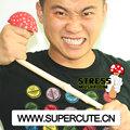 chino 2014 venta al por mayor de productos de setas forma squishy juguetes para apretar