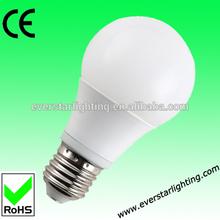 5W 6W 7W A60 wide angel low cost 2835SMD led bulb